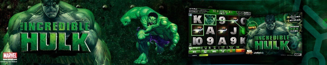 The Incredible Hulk Slot - Gratis spel på nätet