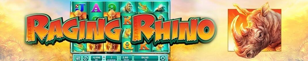 Raging Rhino Spelautomat - Spela Gratis utan insättning