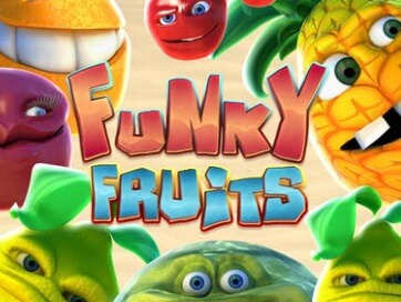 Spela Funky Fruits Spelautomat på nätet på Casino.com Sverige