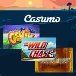 Få frispinn och delta i slotsrace på Casumo Casino