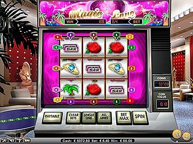 Magic Love - Gratis spelautomat på nätet
