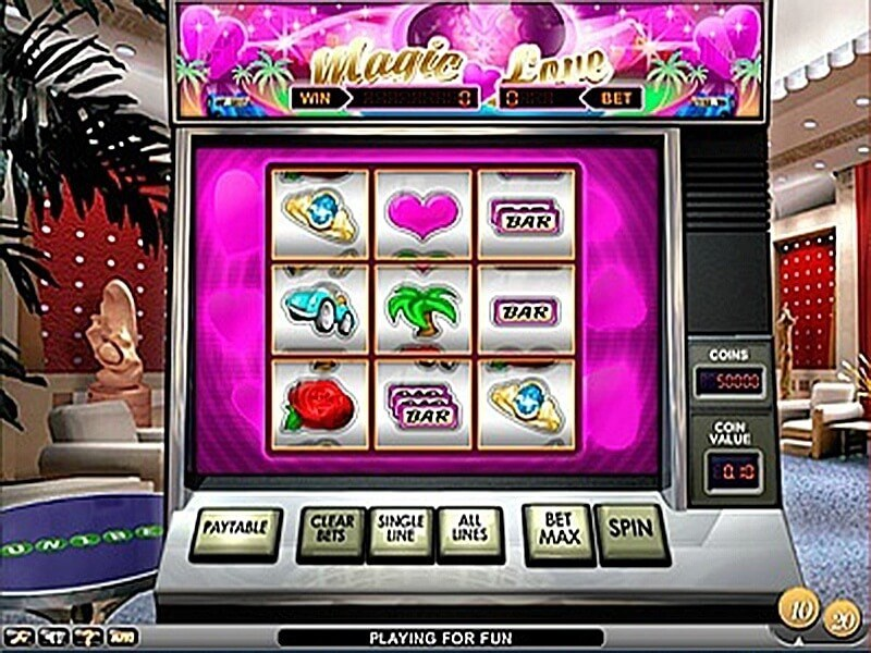 Magic Love - Gratis spelautomat på nätet