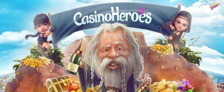 Det är dags för en till recension av ett nätcasino. Denna gång tar vi Casino Heroes