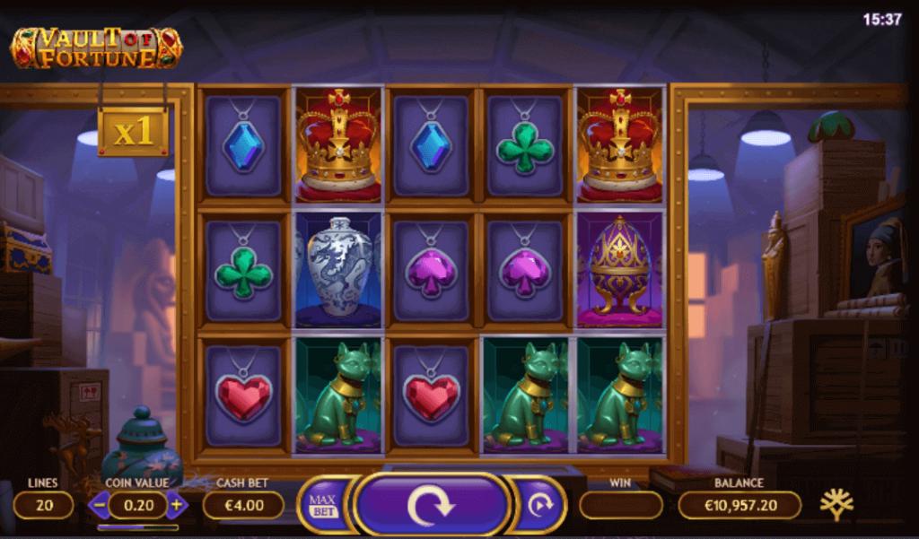 Vault of Fortune spelautomat