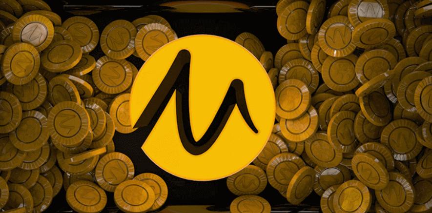 Wowpot-spelen Microgaming - pengar och loggan M