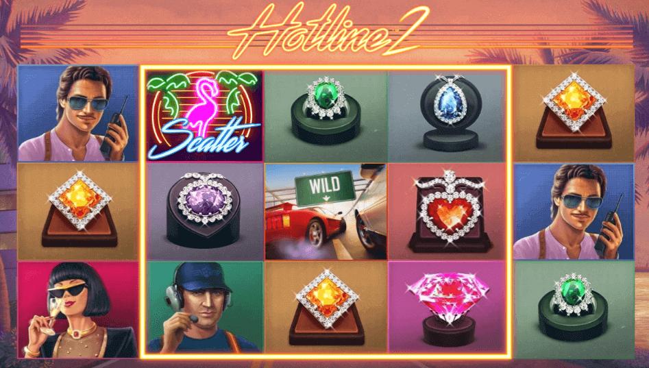 Hotline 2 spelplan slot