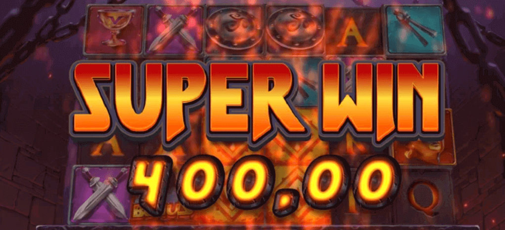 Havver of Vulcan slot Super Win text
