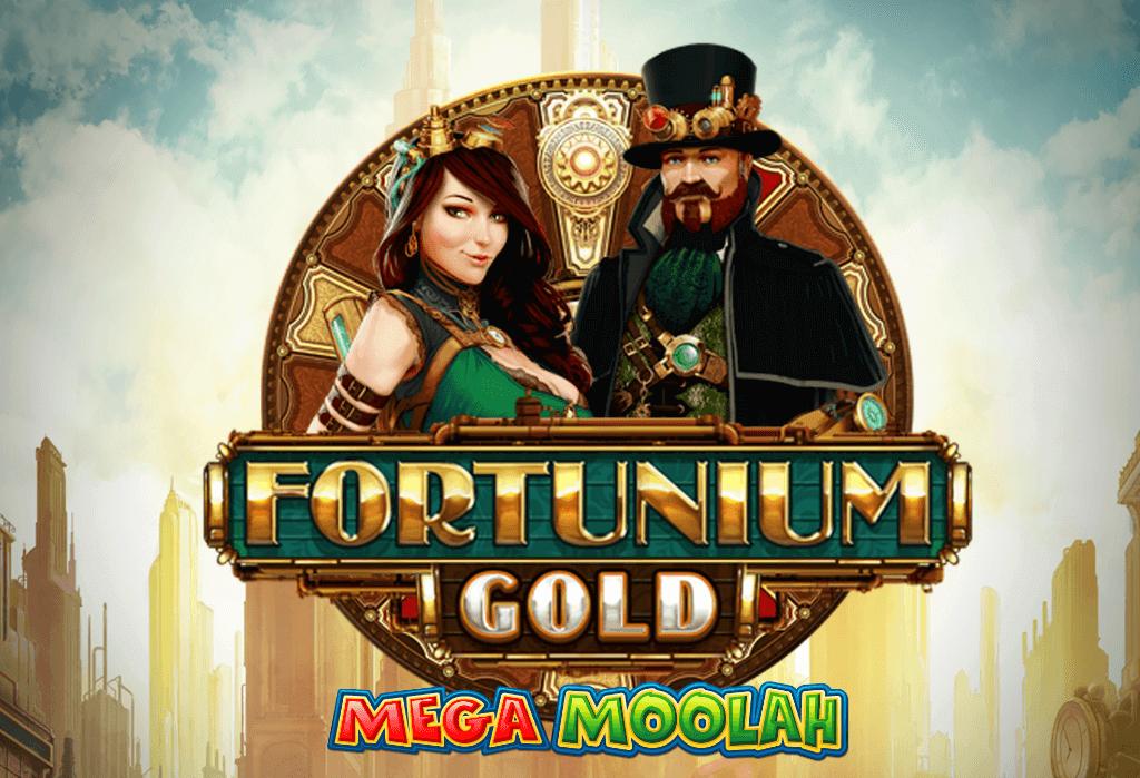 Spela Fortunium Gold Mega Moolah hos ComeOn