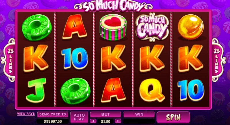 Godis-slots - Spela so much candy