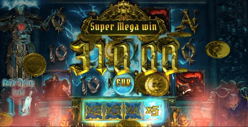 GoGoCasino - Spela Dark King Forbidden Riches Mega Win