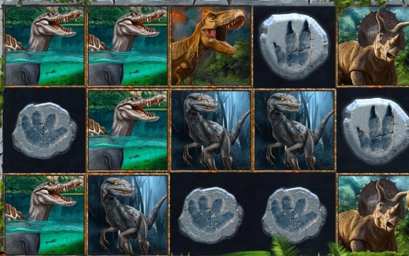 Verajohn booming games Spinosaurus