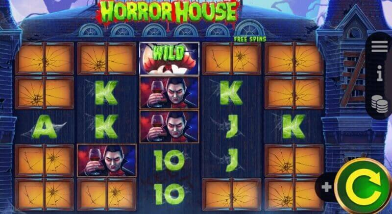 Horror House Booming Games