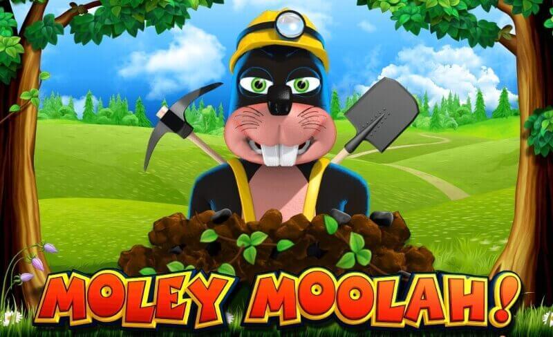 Spela Moley Moolah slot