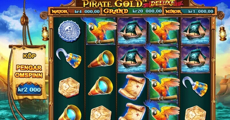 Pirate Gold Deluxe - spelplan