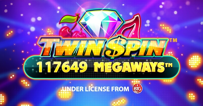 Spela Twin Spin Megaways hos Speedyspel